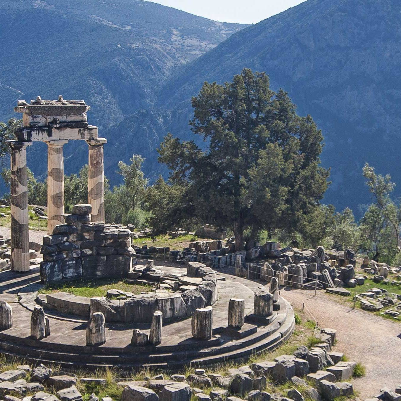 The Oracle at Delphi, Greece